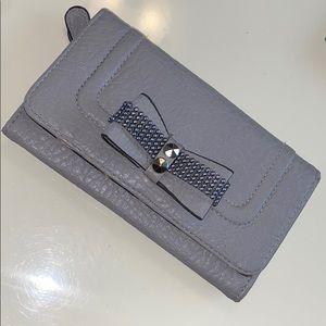 Jessica Simpson pleather wallet